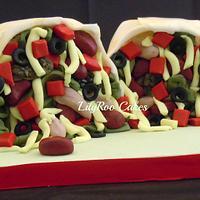Burrito cake! by Jo Waterman