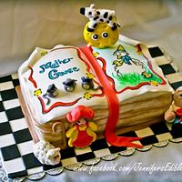 Mother Goose Birthday Cake by Jennifer's Edible Creations