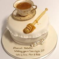 Tea and Honey Cake