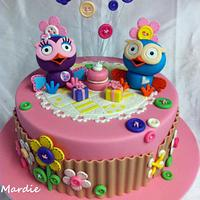 Hootabelle and Hoot Cake