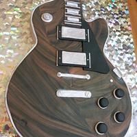 Guitar Birthday Cake by prettysweettreats