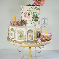 My Cake for the Festival of Lights Collaboration 2014
