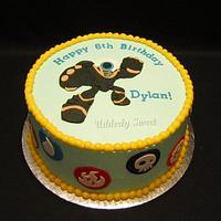 "Skylanders Giants ""Eye Brawl"" Cake by Michelle"