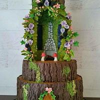 Floral Fairy House