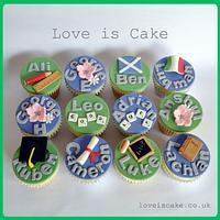 Cupcakes for a very lucky head teacher
