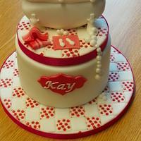Bathtub cake