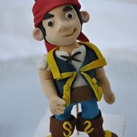 Cake Toppers: Jake and the Never Land Pirates by Hellen