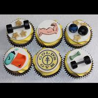 Golds Gym Cupcakes