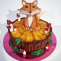 Little fox cake