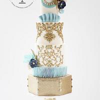 Krikor Jabotian Inspired Wedding Cake - Wedding Cakes Inspired By Fashion