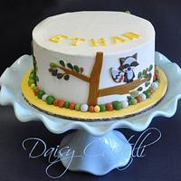 carter-s forrest friends cake