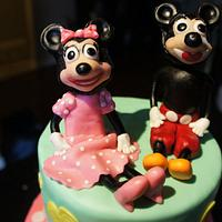 Mouse cake by Olivia Elias