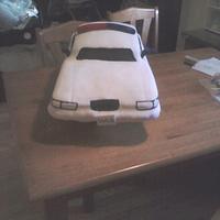 Surprise Cop Car Cake