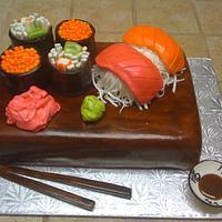 Sushi for dessert