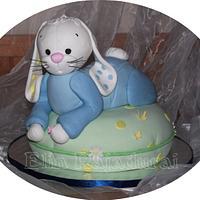 Christening cake by Elin