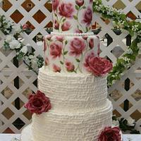 My First Wedding Cake - Vintage Style