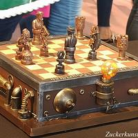 Steampunk Cake, Chess Cake