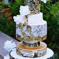wedding cake crinsugarart design