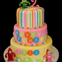 Yo Gabba Gabba Girly cake!