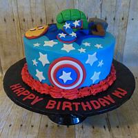 Super Hero 5th Birthday