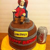 Captain Morgan & Diet Coke Cake