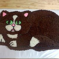 Kitty cay cake