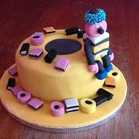 Bertie..liquorice cake.