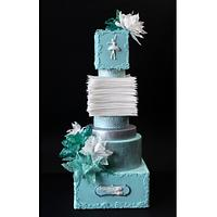 We made this cake with my friend Aneta Koleva -  http://cakesdecor.com/anideya