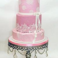 Elegant Birthday Cake!