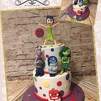 Inside out cake 💖