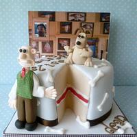 "Wallace and Gromit ""the missing slice"""