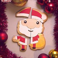 Santa Claus Cookie Puzzle
