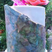 Green Onyx Marble Cake