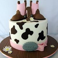 Little Cowgirl Cake