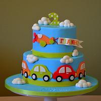 Little boy cars #1 by giveandcake