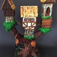 Tree house cake  by  Vale Logroño