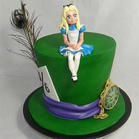 Alice Mad Hatter Cake