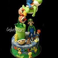 Super Mario Topper