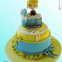 Tiffany baby Cake