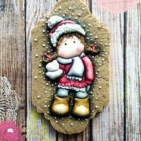 Winter Tilda Cookie