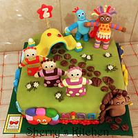 In the night garden cake by Elite Sweet Cakes
