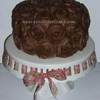 Amanda's Chocolate Rose Cake