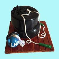 Fitness cake for men