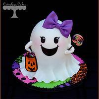 Girly Ghost Cake