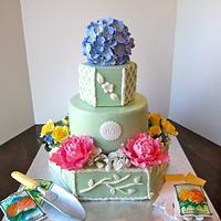 Garden themed 80th Birthday