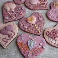 Gingerbread hearts by Valeria Sotirova