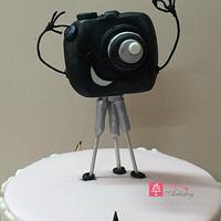 Smile Please - Animated camera birthday cake