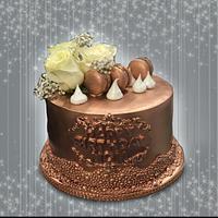 Copper Tone Cake