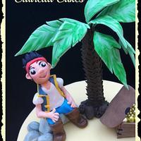 Yo ho ho! It's Jake & The Neverland Pirates! by Clairella Cakes