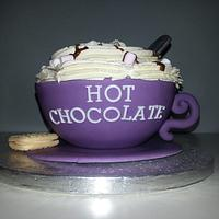 Cup of Hot Chocolate Cake